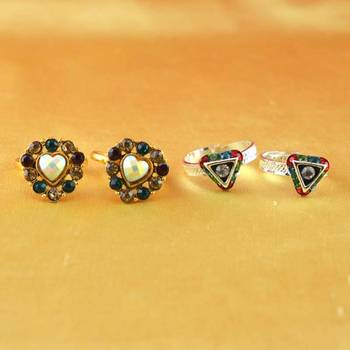 Gold And Silver Platted Toy Ring