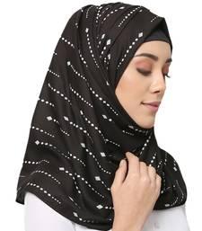 Cotton Rayon  Muslim Islamic Fancy Stylish Casual Hijab Scarf For Women Girls