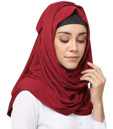 Viscose Jersey Muslim Islamic Fancy Stylish Casual Hijab Scarf For Women Girls
