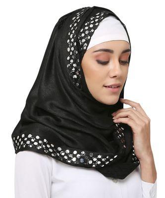 Viscose  Muslim Islamic Fancy Stylish Casual Hijab Scarf For Women Girls