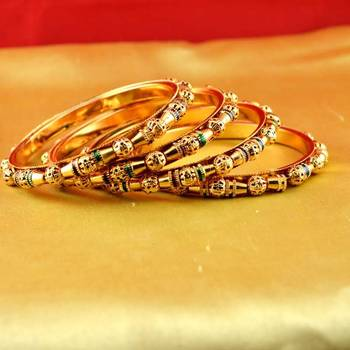 Gold Platted Bangles