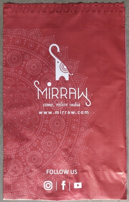 ( 12 X 16 )-250 Mirraw Printed Courier Bags with POD Jacket