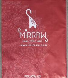 ( 15 X 19 )-1000 Mirraw Printed Courier Bags with POD Jacket