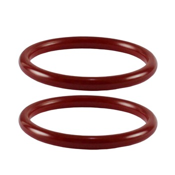 Acrylic Bangles Color-Red
