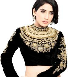 Buy THE MAHARANI BLOUSE. STUDDED & EMBROIDERED bridal-blouse online