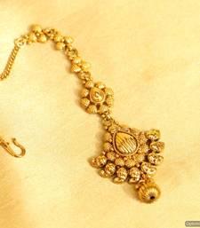 Yellow Gold Maang-Tikka