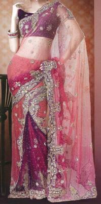 Bridal Lehenga Saree - Wedding - Party Wear - Heavy Embroidery - Riyaa 902510
