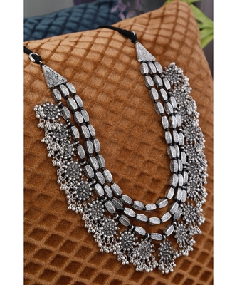 silver plated Alloy Necklace