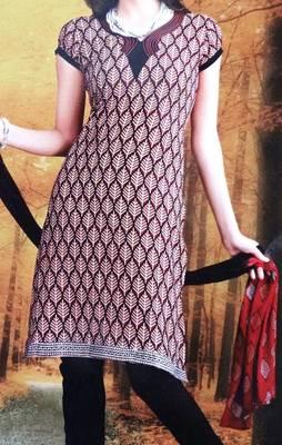 Cotton Salwar Kameez Material - Printed - Riyaa