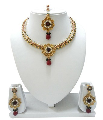 Flower Neckless Set