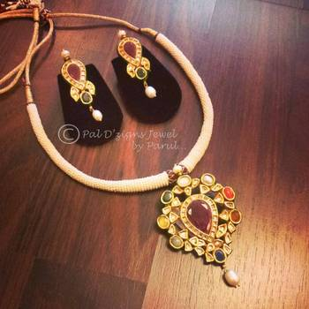 Navratri Necklace Set