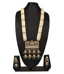 multicolor beaded jewellery Brass  Pendant  Pair of Earring