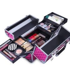 NFI essentials Cosmetic Box Makeup Bag Vanity Kit Travel Organiser Big Box
