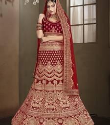 Exclusive Heavy Bridal Hand Work Lehnga