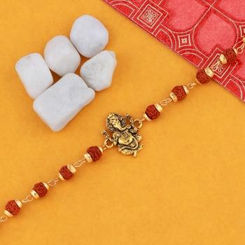 "Bracelet  Rudraksh ""Ganeshji"" For Mens And Boys"