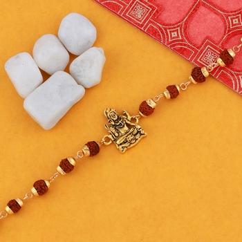 """Bracelet  Rudraksh """"Shiv Ji"""" For Mens And Boys"""