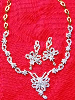 Stylish AD Necklace Set