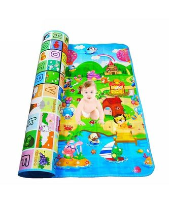 Double Sided Waterproof Educational Learning Baby Play Mat for Kids