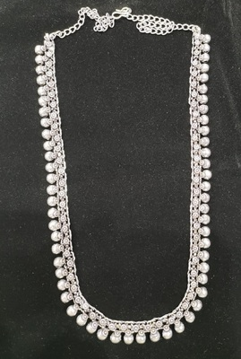 Traditional Oxidised Design Long Necklace for Women and Girls