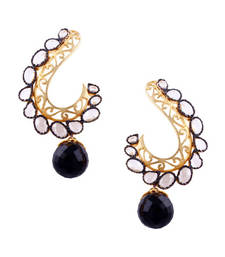 Buy Ethnic shine gemstone-earring online