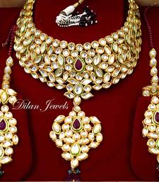 Bridal Kundan Polki Set shop online