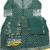 Green kurti Sharara& duptta In Rayon Gotta Detailing On yoke And Designer Duptta