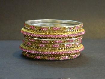 A royal touch Pink Bangle