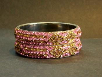 RAJASTHANI handmade Bangle (Pink)