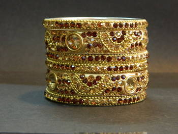 Indian handmade Bridal Bangles in Copper