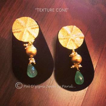 Texture Cone Earing