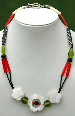 Masai inspired Necklace.