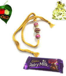 Buy Rakhi with Express delivery rakhi-with-chocolate online