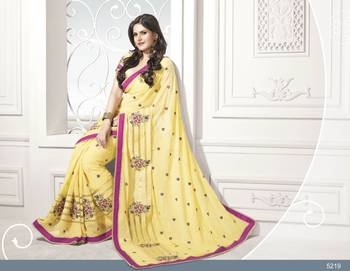 Designer Elegant Zarine Khan Bollywood Sari STUDIO5219