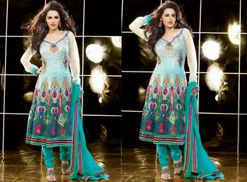 Designer Dress Material Swarg 12