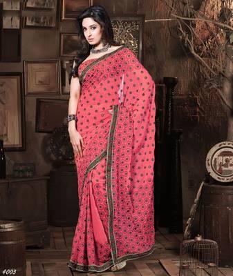 Designer Elegant Designer Sari Dhamaal4003