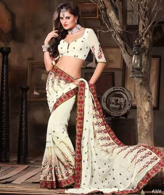 Designer Elegant Designer Sari Dhamaal4006
