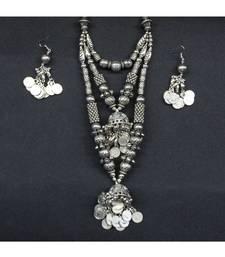 stylish antique oxidized jewellery for women