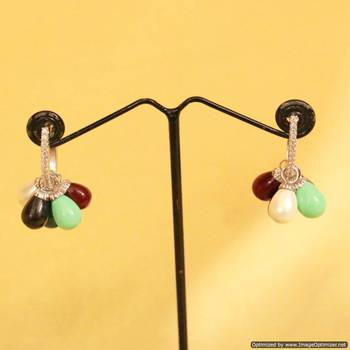 Multicolor  Danglers-Drops