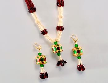 Designer Pearl Necklace Set