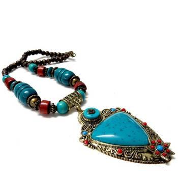Designer Wooden Necklace