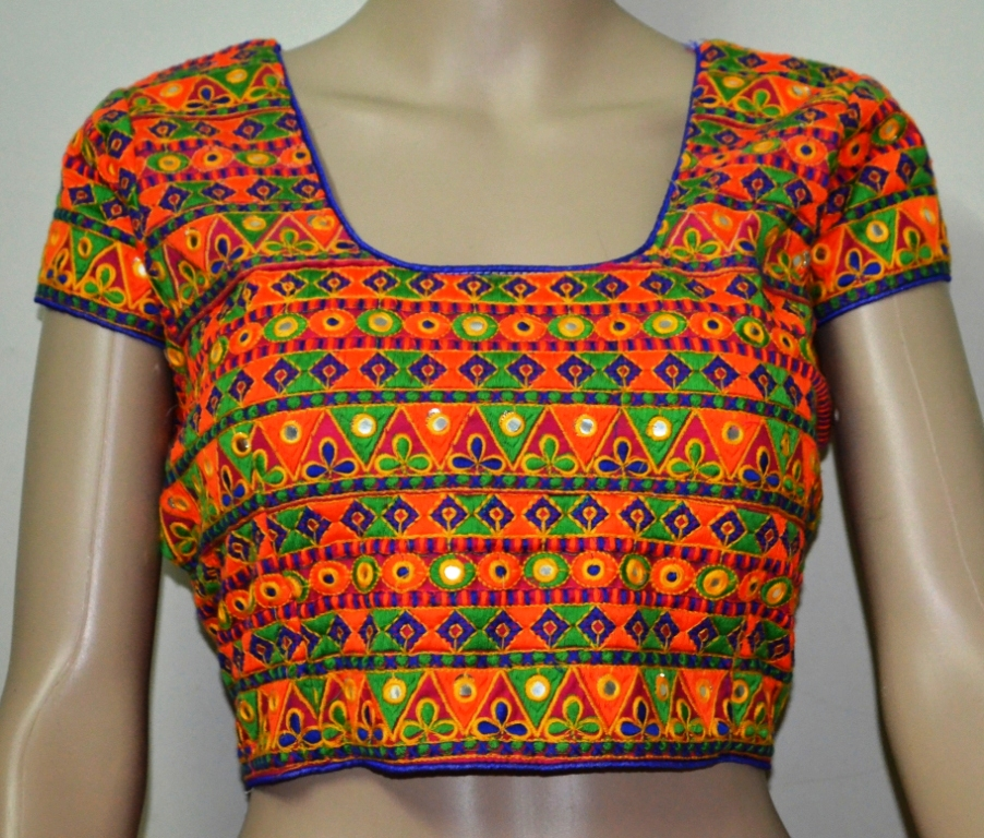 Multicolour kutch Embroidery Blouse - ETHNICLE - 532415 0cac4e25b