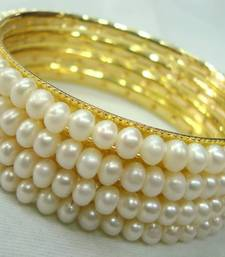 Buy fresh water pearls bangles sets mpb-3 bangles-and-bracelet online