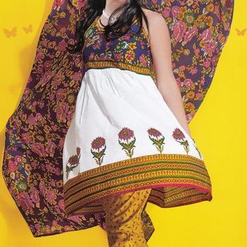 Dress Material Cotton Designer Prints Unstitched Salwar Kameez Suit D.No 1701