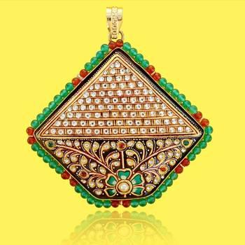 Tanjore Krishna Pendant