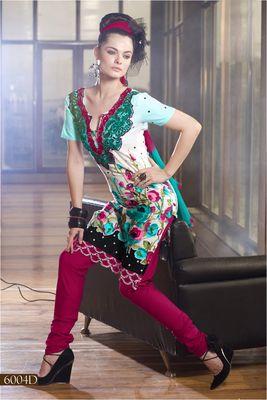 Designer Dress Material MASALA 6004 D