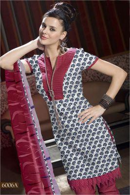 Designer Dress Material MASALA 6006 A