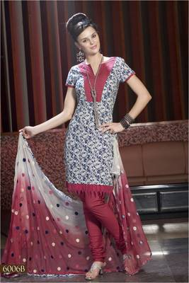 Designer Dress Material MASALA 6006 B