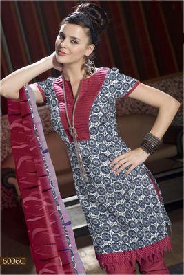 Designer Dress Material MASALA 6006 C