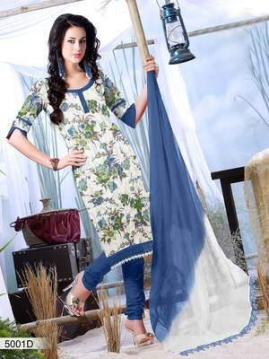 Designer Dress Material DRAPE 5001 D
