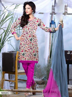 Designer Dress Material DRAPE 5002 C